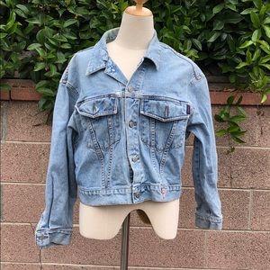Guess Vintage lt wash jean jacket
